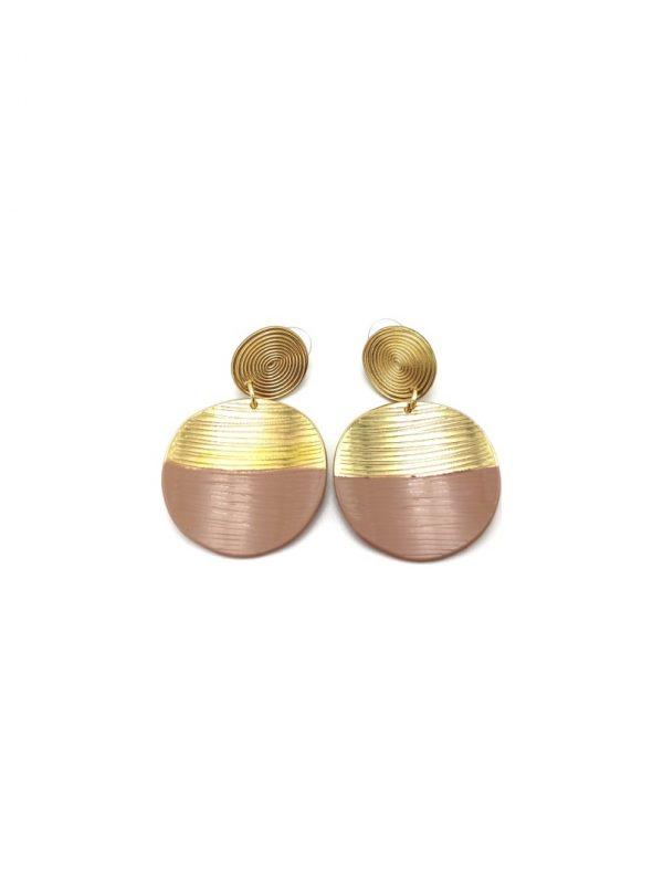Γυναικεία Σκουλαρίκια nude - χρυσά