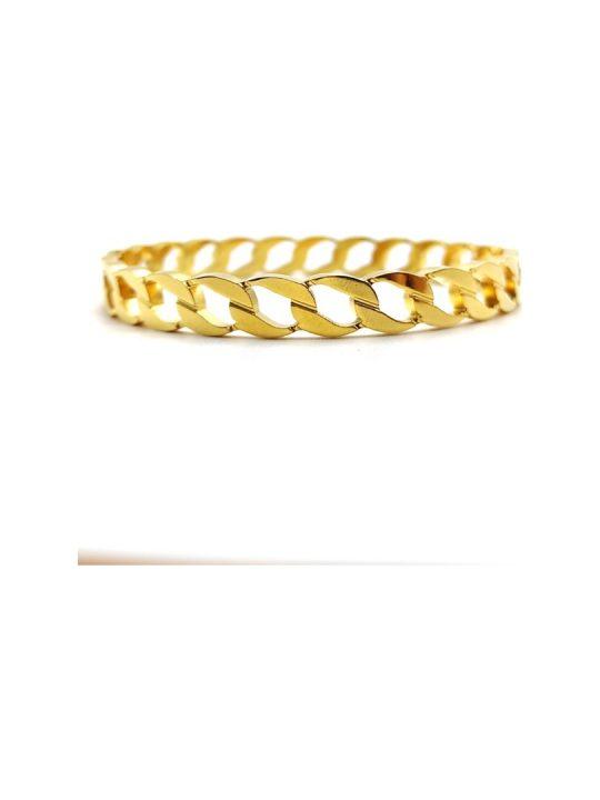 Γυναικείο Βραχιόλι χρυσό σε σχήμα αλυσίδας