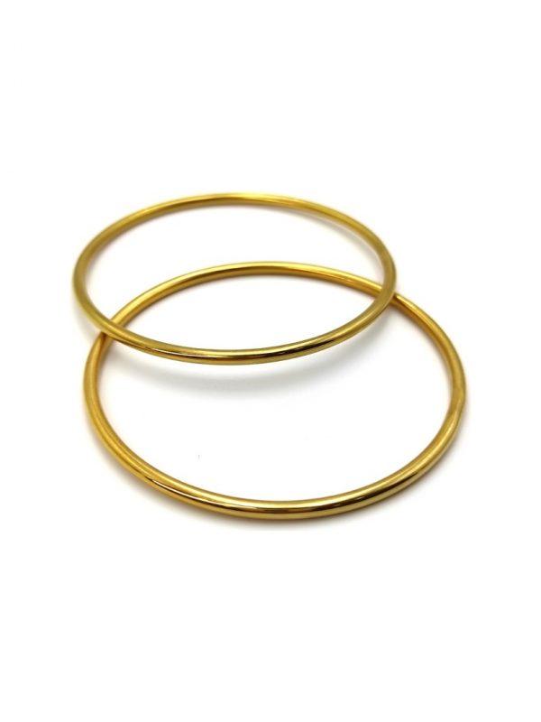 Γυναικεία Βραχιόλια βέργες χρυσές
