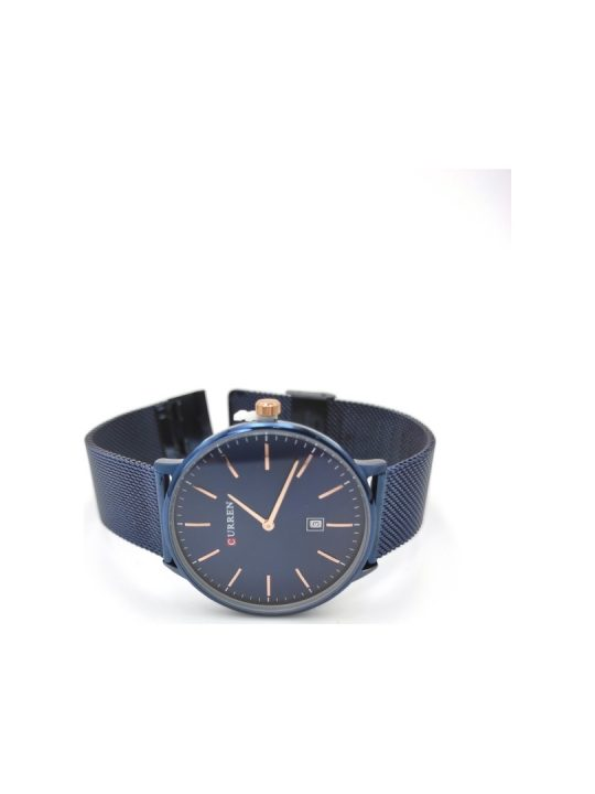 Unisex ρολόι Curren με μπλε mesh μπρασελέ