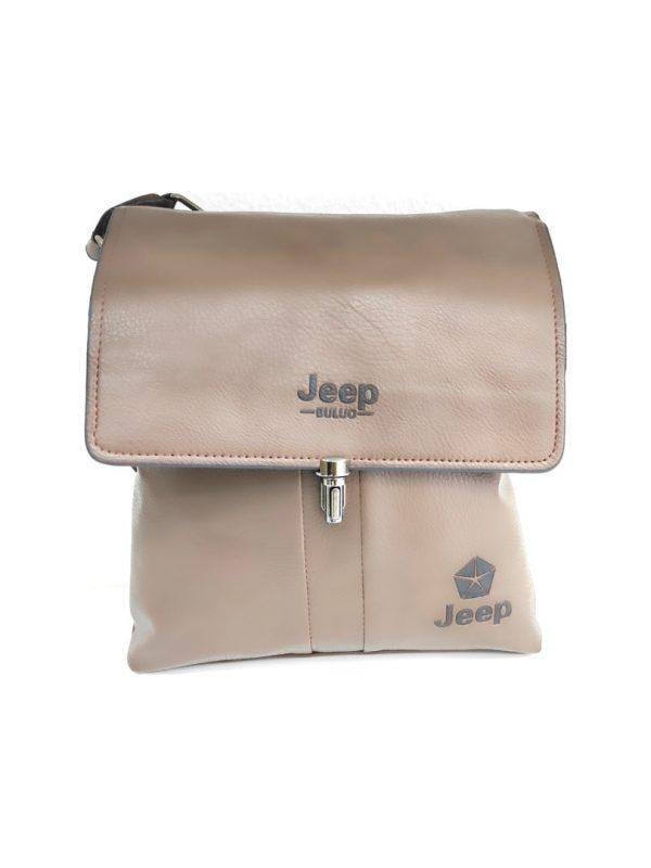 Ανδρική Τσάντα Jeep Buluo μπεζ
