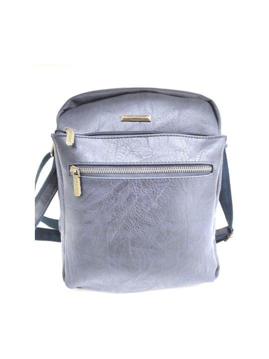 Ανδρική Τσάντα Bag to Bag μαύρη χιαστή