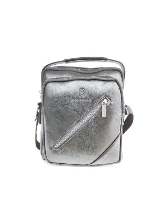 Ανδρική Τσάντα Bag to Bag χιαστή μαύρη